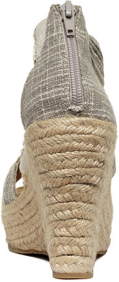 BearPaw Shoes, Begonia Espadrille Platform Wedge Sandals