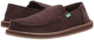 Sanuk Hemp (Dark Brown) Men's Shoes