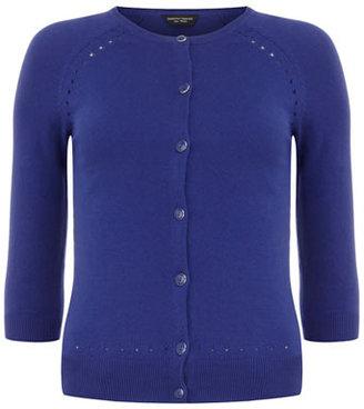 Dorothy Perkins Royal Blue pointelle cardigan