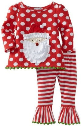 Mud Pie Baby-Girls Infant Santa Tunic...