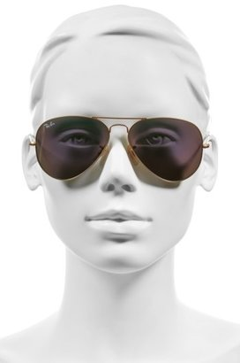 Ray-Ban Women's Standard Original 58Mm Aviator Sunglasses - Black