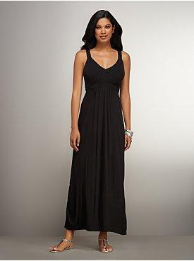 New York & Co. Tie-Back Maxi Dress