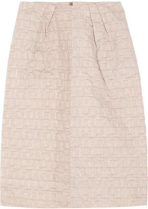 Marni Jacquard taffeta skirt