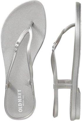 Old Navy Women's Embellished Flip-Flop Sandals
