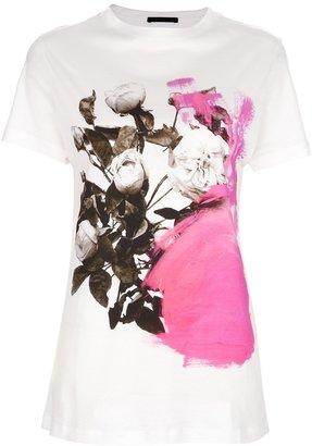 Christopher Kane floral print t-shirt