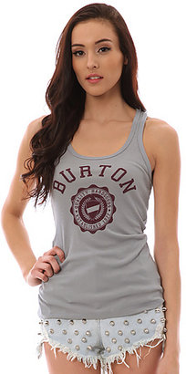 Burton The Co-Ed Boy Beater Tank in Pewter