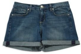VINTAGE AMERICA Vintage Cuffed Denim Shorts
