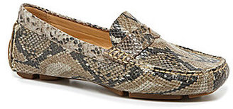 Cole Haan Trillby Snake-Print Drivers