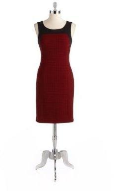 Anne Klein Sleeveless Jacquard Dress