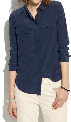 Madewell Silk Cargo Shirt