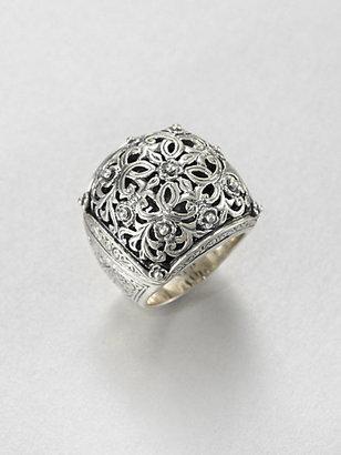 Konstantino Sterling Silver Flower Ring