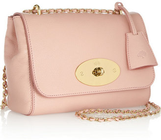 Mulberry Lily textured-leather shoulder bag