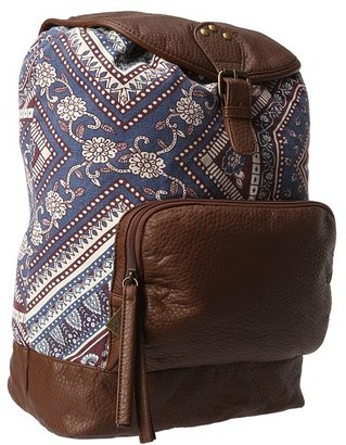 Billabong Homeroom Hippie Backpack (Perfect Pink) - Bags and Luggage
