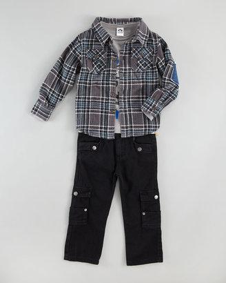 Appaman Plaid Flannel Shirt