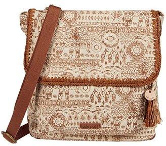 Sakroots Artist Circle Convertible Backpack (Tobacco Batik World) Backpack Bags