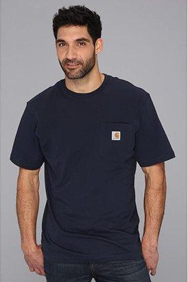Carhartt Workwear Pocket S/S Tee - Tall (Navy) Men's T Shirt
