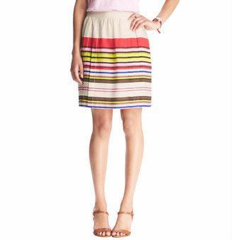 LOFT Aloha Stripe Full Skirt