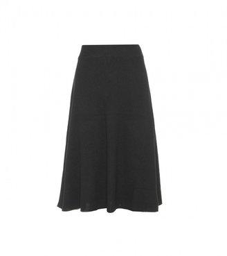 The Row Aurora cashmere skirt