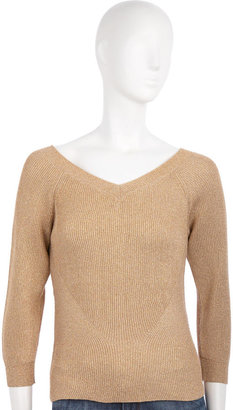 Marc by Marc Jacobs Metallic Sweater - Gold