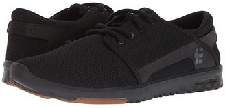 Etnies Scout (Black/White/Gum) Men's Skate Shoes