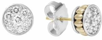 Lagos Diamond & Caviar Stud Earrings