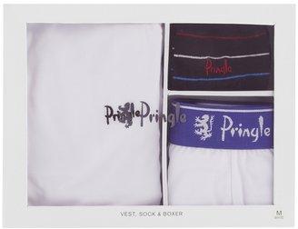 Pringle T-Shirt Trunk and Socks Gift Set - Multi
