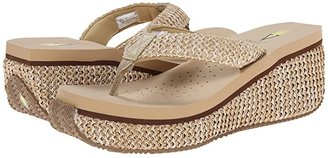 Volatile Island (Brown) Women's Wedge Shoes