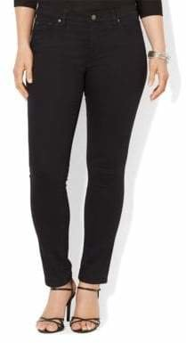 Lauren Ralph Lauren Plus Super Stretch Slimming Modern Skinny Jean