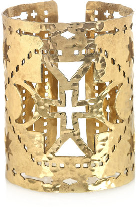 Pamela Love Navajo-inspired cutout brass cuff