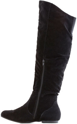 Walk It to Me Boot in Black - Wide Calf