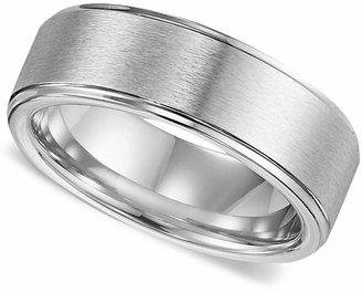 Triton Men Cobalt Ring, Comfort Fit Wedding Band