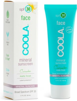 Coola R) Suncare Cucumber Face Mineral Sunscreen SPF 30