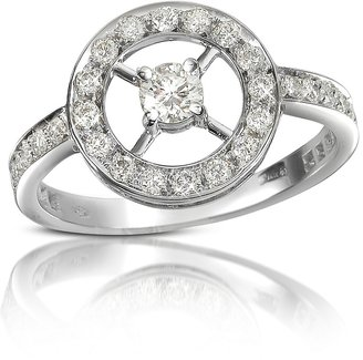 Forzieri 0.52 ctw Diamond 18K Gold Ring