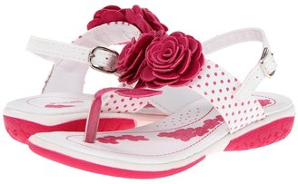 Pampili Arco Iris 11361 (Toddler) (White/Pink) - Footwear
