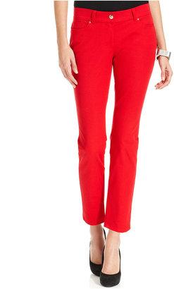 Alfani Pants, Skinny Ankle Comfort-Waist