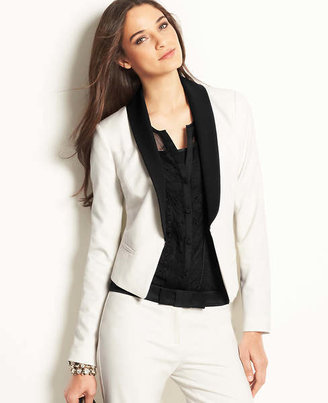 Ann Taylor Tall Shawl Tuxedo Jacket