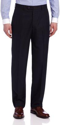 Haggar Men's Big-Tall Herringbone Plain Front Suit Separate Pant