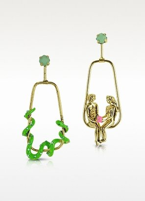 N2 Adam and Eve with the Snake Earrings