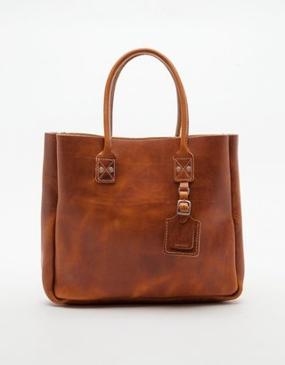 Billykirk Leather Tote in Tan
