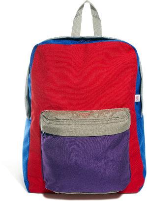 American Apparel Color Block Nylon Backpack