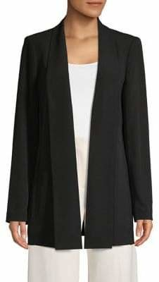 Calvin Klein Shawl Neck Draped Topper