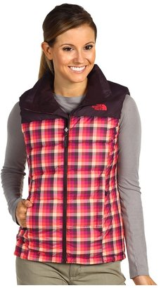 The North Face Novelty Nuptse Vest (TNF Black Chevron Print) - Apparel