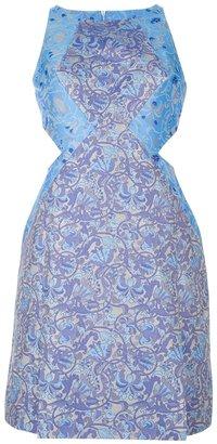 Richard Nicoll jacquard tailored dress