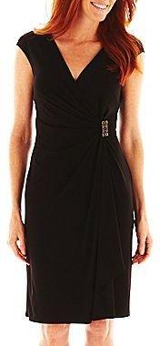 JCPenney American Living Cascade-Ruffle Dress