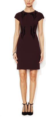 Rachel Roy Appliqué Sheath Dress