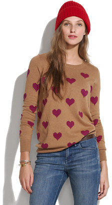 Madewell Heartstripe sweater