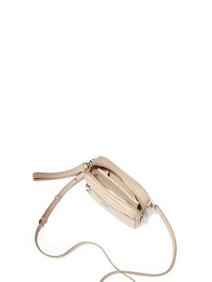 DKNY Color Block Leather Clutch With Wristlet