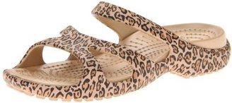 Crocs Women's Meleen Leopard Print Sandal