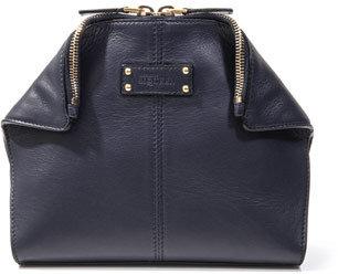 Alexander McQueen De Manta leather cosmetics bag