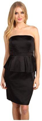 Calvin Klein Strapless Peplum Dress CD0J1QM3 Women's Dress